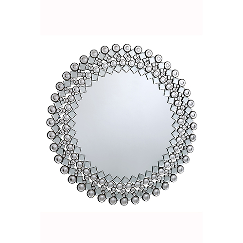 Elegant Lighting Modern Glass 39-Inch Mirror