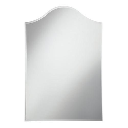 Elegant Lighting Modern Glass 28-Inch Mirror
