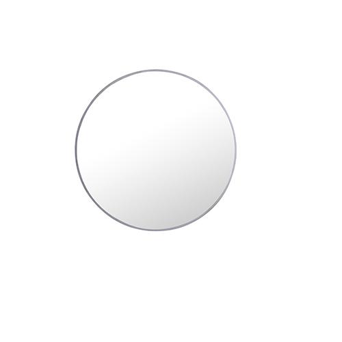 Eternity Silver Round 24-Inch Mirror