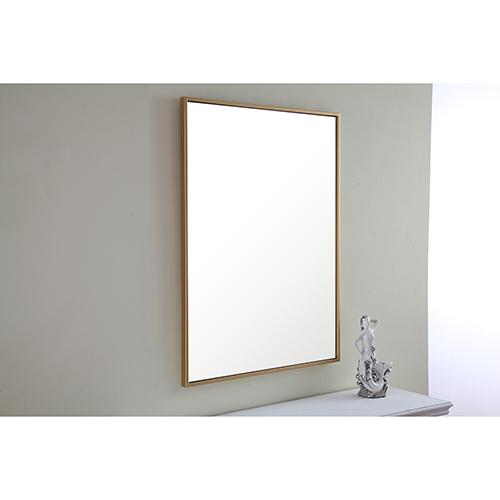 Eternity Brass 32-Inch Mirror