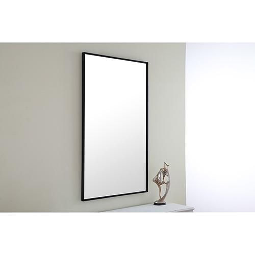 Eternity Black 24-Inch Mirror