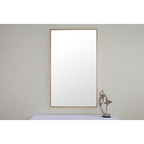 Eternity Brass 24-Inch Mirror