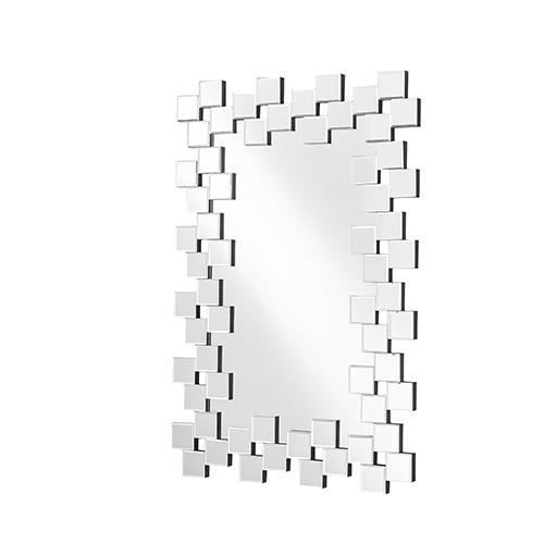 Sparkle Glass 31-Inch Tile Mirror