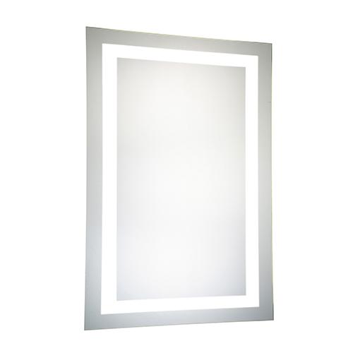 Elegant Lighting Nova Glossy Frosted White 40-Inch LED Mirror 5000K