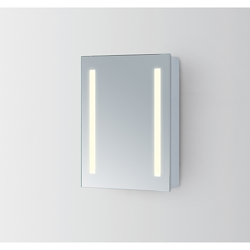 Elixir Silver Powder Coating 19-Inch LED Mirror 5000K