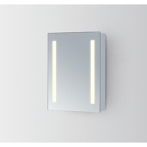 Elegant Lighting Elixir Silver Powder Coating 19-Inch LED Mirror 5000K