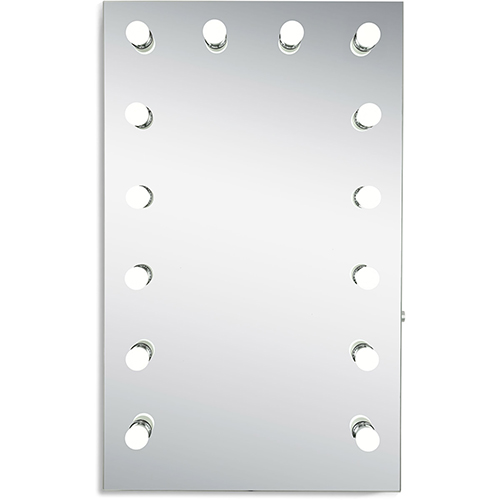 Hollywood Silver Anodized 39-Inch LED Mirror 5000K