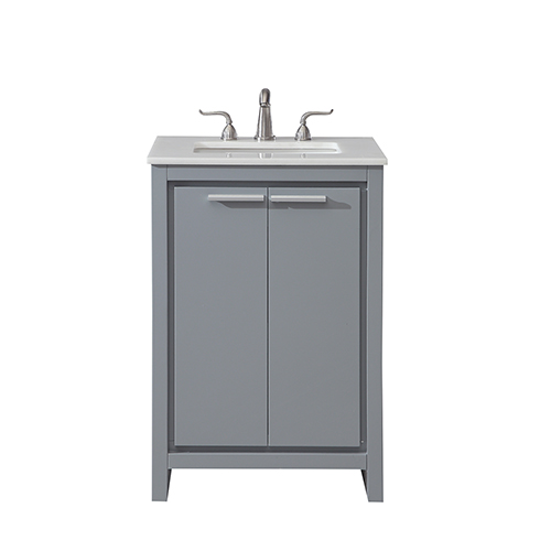 Elegant Lighting Filipo Grey Vanity Washstand