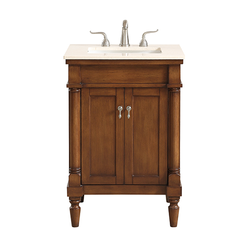 Lexington Walnut Vanity Washstand