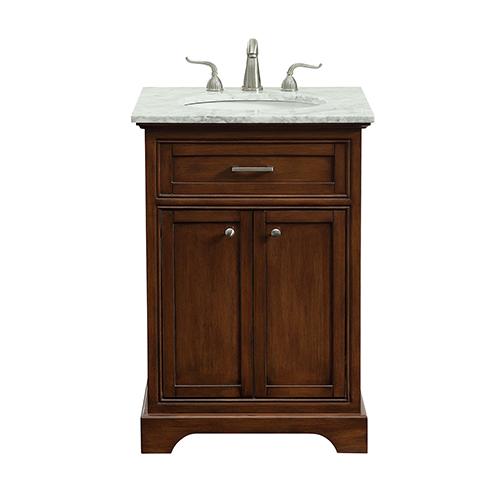 Americana Teak Vanity Washstand