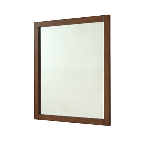 Elegant Lighting Americana Teak 32-Inch Mirror