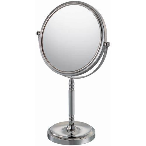 Mirror Image Chrome Recessed Base Vanity Mirror