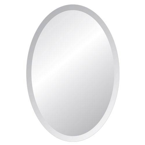 Regency 24 x 48 Oval Beveled Edge Mirror