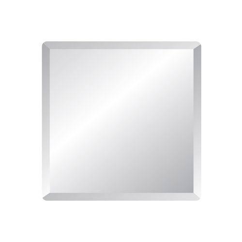 Regency 24-Inch Square Beveled Edge Mirror