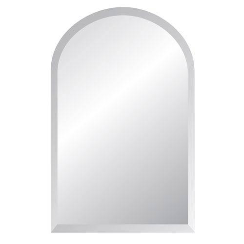 Spancraft Regency Arch 18 X 36 Beveled Edge Mirror