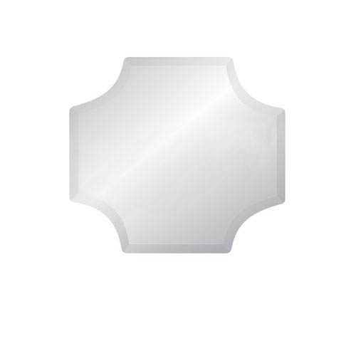 Regency Scallop 30 x 30 Beveled Edge Mirror