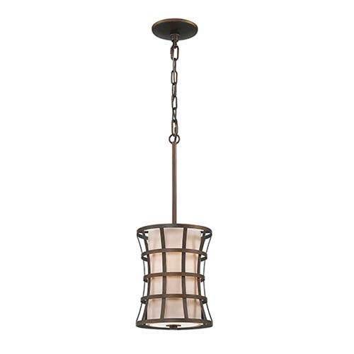 Rubbed Bronze One-Light Mini Pendant
