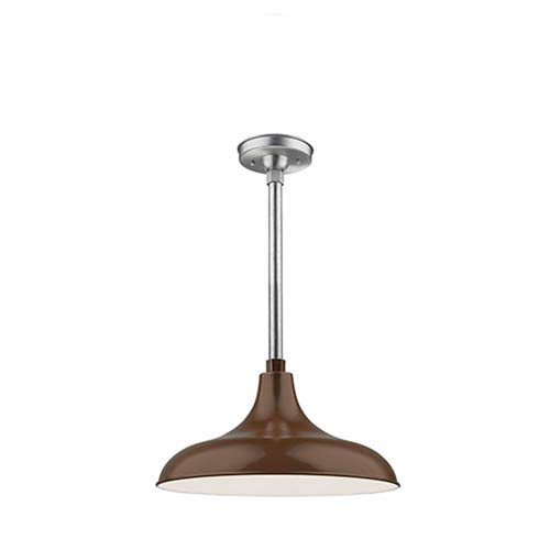 Millennium Lighting R Series Architectural Bronze 17-Inch One-Light Outdoor Warehouse Shade Only
