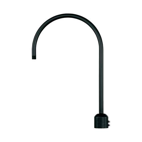 R Series Satin Black Post Adapter
