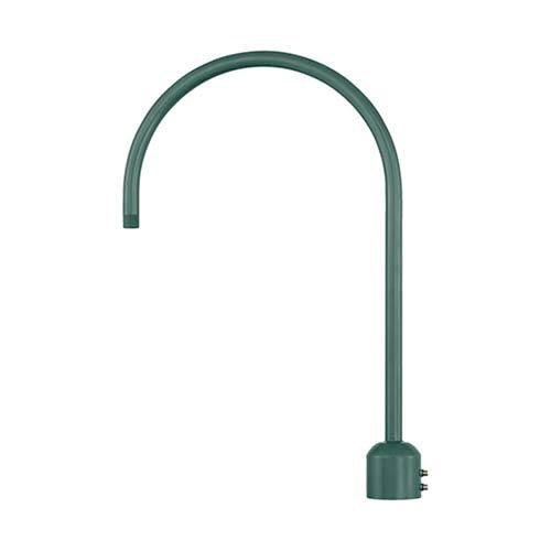 R Series Satin Green Post Adapter