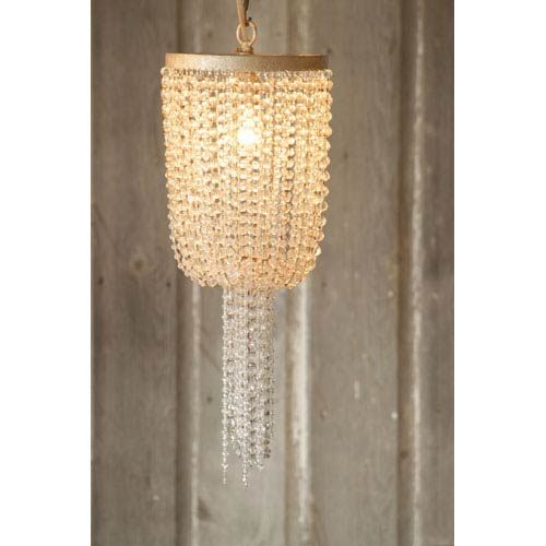 Chandi Lighting Araz Champagne One-Light Mini Pendant