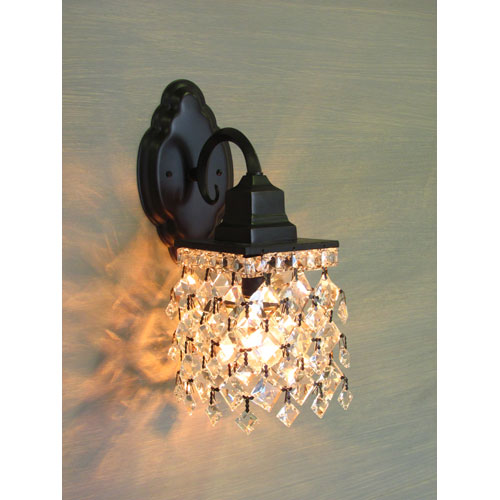 Gamble Espresso One-Light Wall Sconce
