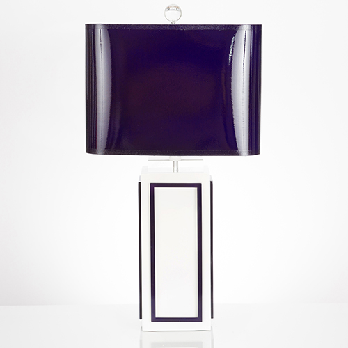 Couture Lagos Indigo One-Light Table Lamp