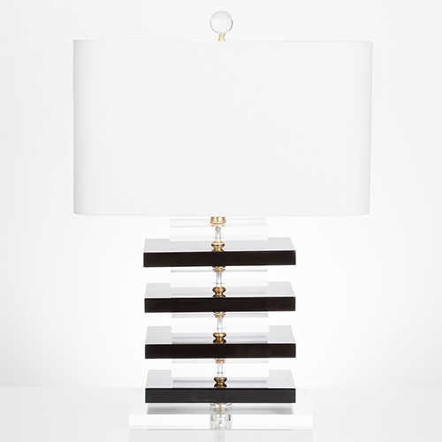 Couture Devonshire Black One-Light Table Lamp