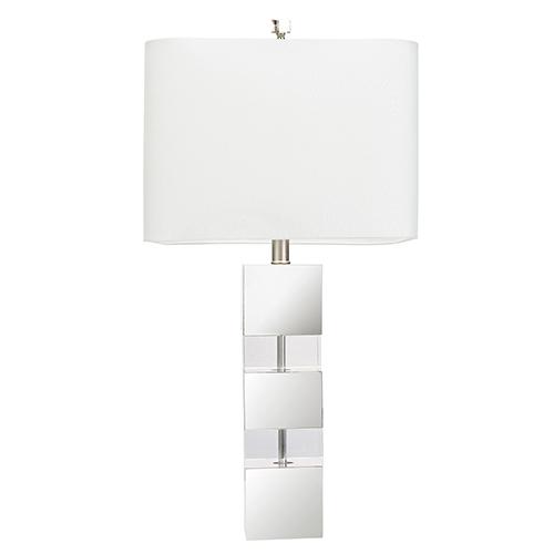Higbee Glass 28-Inch One-Light Table Lamp