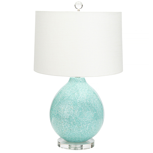 Couture Tilly Green 27-Inch One-Light Table Lamp