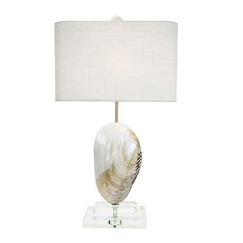 Couture Coastal Retreat Pearl 25.5-Inch High Oceanside Table Lamp