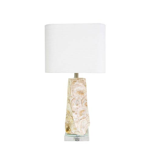 Couture coastal retreat natural capiz shell 6 inch del mar table couture coastal retreat natural capiz shell 6 inch del mar table lamp aloadofball Images