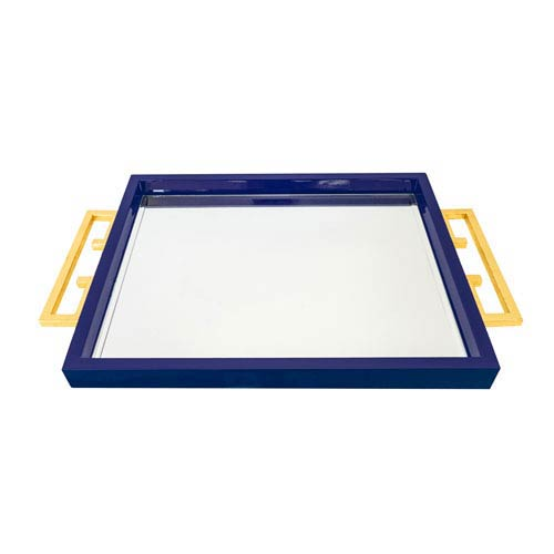 Graphic Appeal High Gloss Indigo Tray