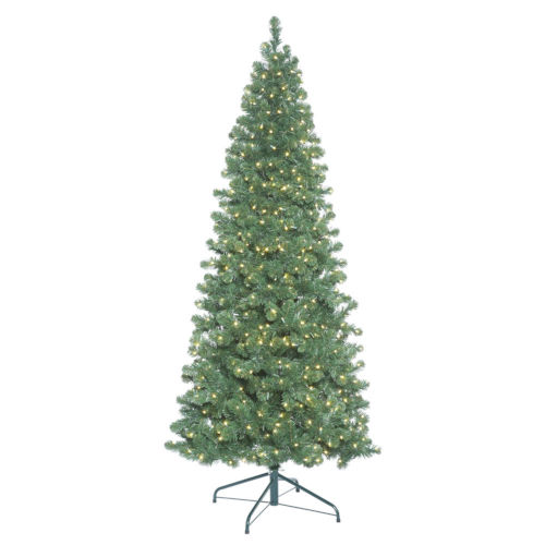 Oregon Slim Green 650 LED Light Artificial Pre-lit Tree