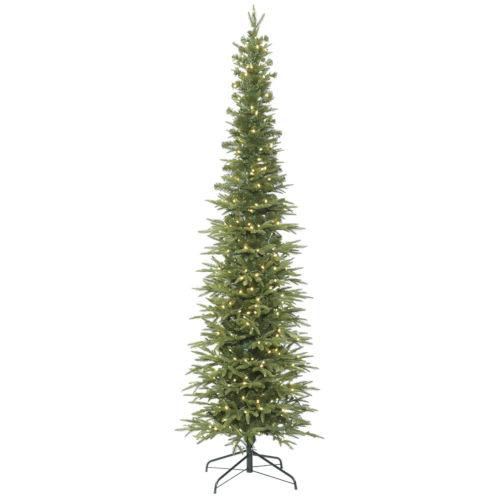 Bixley Pencil Green Artificial Pre-lit Tree