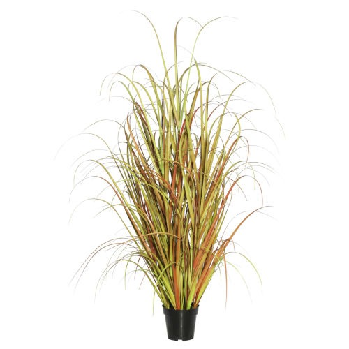 Brown 36-Inch Mixed Grass in Pot