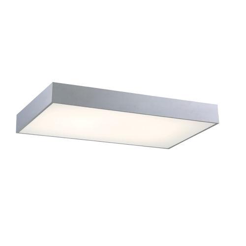 Mac Silver 25-Inch LED Flush Mount