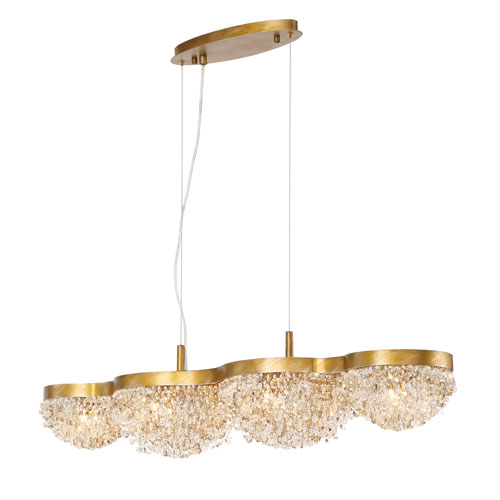 Mondo Gold 10-Light Pendant