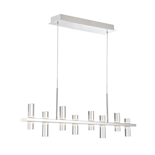 Netto Chrome 3.25-Inch LED Chandelier