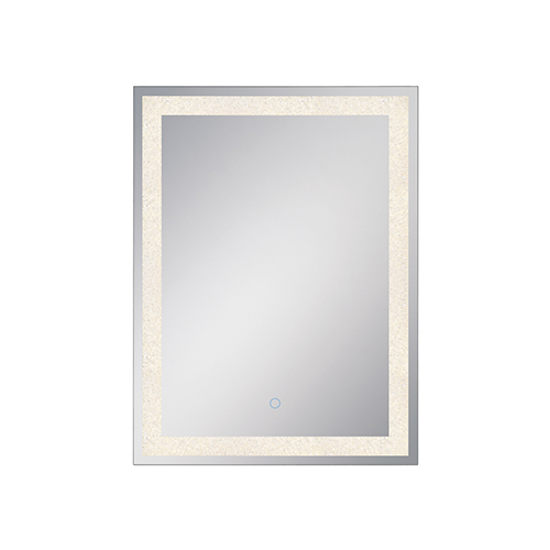 Back-Lit Mirror Chrome 23.5-Inch LED Mirror