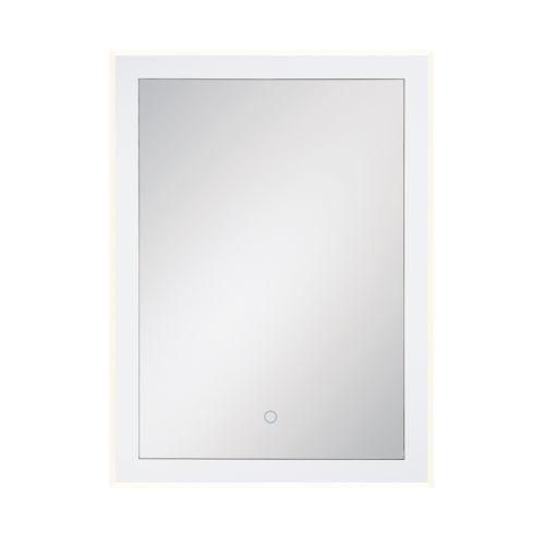 Eurofase Lighting Edge-Lit Mirror Chrome 22-Inch LED Mirror