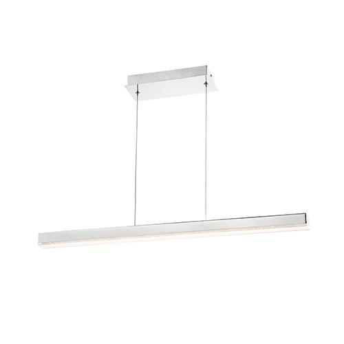 Santi Chrome 2-Inch LED Linear Pendant
