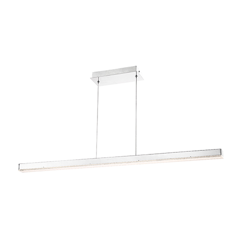 Santi Chrome 2-Inch LED Linear Pendant