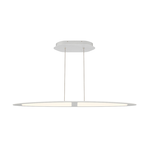 Eurofase Lighting Ormont Brushed Nickel 5.5-Inch LED Linear Pendant