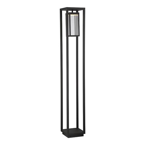 Outdoor Bollard Graphite Grey 7.75-Inch LED Bollard