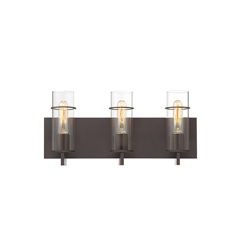 Pista Bronze 19-Inch 3-Light Bath Vanity
