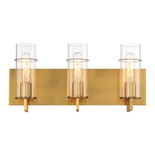 Pista Gold 19-Inch Three-Light Bath Vanity