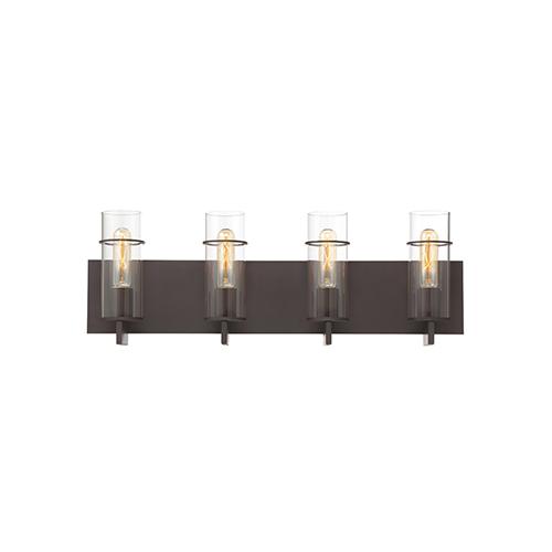 Eurofase Lighting Pista Bronze 26-Inch 4-Light Bath Vanity