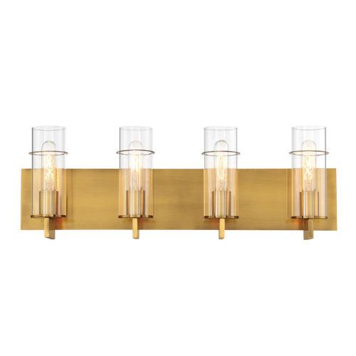 Pista Gold 26-Inch Four-Light Bath Vanity