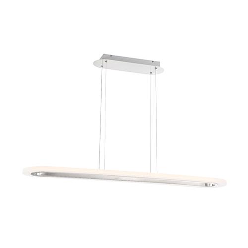 Distesa Satin Nickel 8.75-Inch LED Linear Pendant